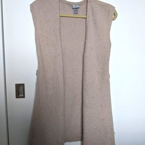 H&M Pearl Sweater Duster